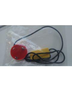 Chave de segurança de forma redonda para esteira com pontos de contato MA
