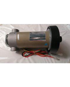 Motor TeWei 8 cm diameter, with metal encoder